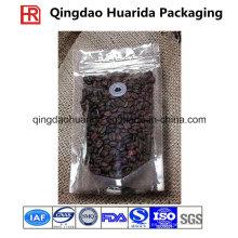 Levántese la bolsa de café Embalaje de té con la cremallera y la válvula