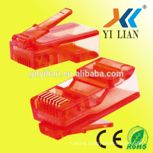 high quality network 8p8c cat5 rj45 connector for computer cable