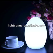 Decorative multi color changing Reading Table Lamp LED