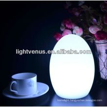 Decorative LED multi color changing hotel Table Light