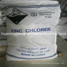 Classe Industrial de cloreto de zinco & bateria da classe n. º CAS: 7646-85-7