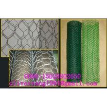 "1/4"" Hexagonal wire netting chicken mesh monkey fence fish netting in roll"