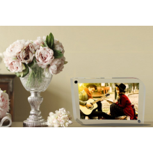 Unique 2 Round Edge Clear Acrylic Photo Frame