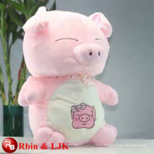 Meet EN71 and ASTM standard ICTI plush toy factory stuffed big pig toy