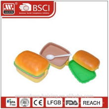 Hamburger Shape Lunch Box