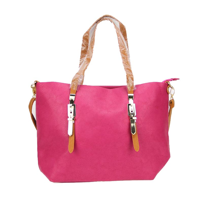 Womens Tote Handbags Dkb 4328 A114 Pink 1