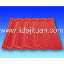 Plaque en acier profilée pour le toit ou le mur