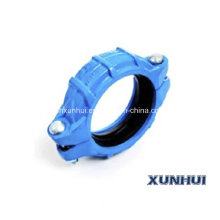 High Pressure Ductile Iron Grooved Pipe Connection Couplings 707