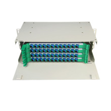 48 Port Rack Mount Fiber ODF dengan Adaptor