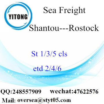 Shantou Port LCL Consolidation To Rostock