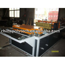 PVC plastic roofing sheet extrusion line factory