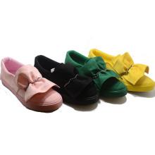 Zapatos coloridos de la novedad de Hotsale Vulcanization inyección caucho mujer