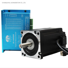 NEMA 34 Jk86hsn85 with Hsd86 with 3m Cables and 3m Encoder Closed Loop Stepper Motor Kit
