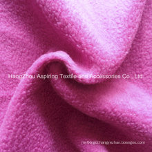 100% Polyester Knitting Polar Fleece Fabric 75D/96f