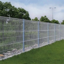 panneau de clôture en treillis métallique pliable