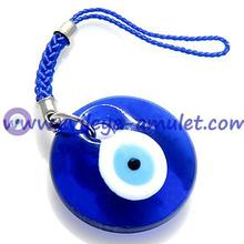 Glass Evil Eye Protection Cell Phone Charm