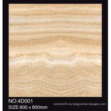 De Buena Calidad Nuevo patrón de cristal completo azulejos de porcelana pulida 800X800 600X600 Silestone piso