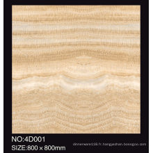 Matériau de construction poli carreaux de céramique vitrifiés de plancher