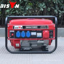 BISON (CHINE) Tous les types de générateur silencieux, générateur d'essence à prix différent, générateur d'essence bon marché 8500w