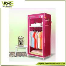 Cheap Easy Clean Cabinet Folding Simple Bedroom Wardrobe