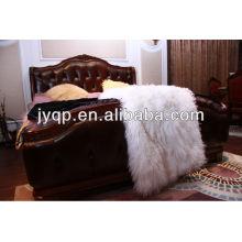 Wholesale High Quality Tibetan Mongolian sheep skin curly fur plates