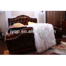 Оптовая высокое качество Тибетский монгольский вьющиеся овец кожи меха плиты