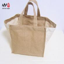 bolso de lino de alta calidad resistente al desgaste ecológico