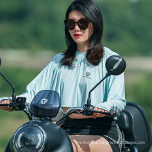 Summer Women′s Hooded Ultra-Light and Breathable Sunscreen Clothing with Anti-Ultraviolet Riding Sunscreen