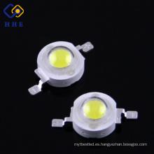 Bombilla de alto poder blanco de alto rendimiento 95Ra Epistar chip 1w para luz de calle