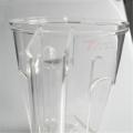 Custom glass cup prototype cnc precision machining