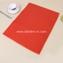 Solid Color Microfiber Table Mat With Check