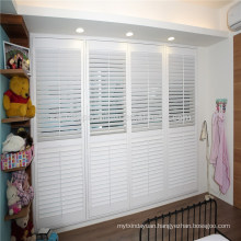 top sale pvc shutter customize size louver window shutters