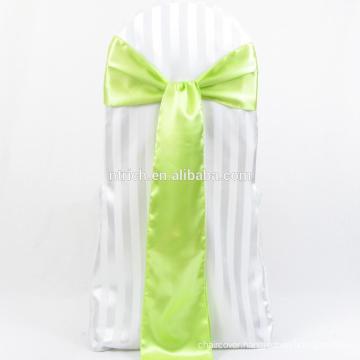 Apple green satin sash for wedding