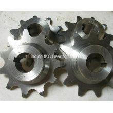 Pignon en acier moulé, roue dentée, roue à chaîne