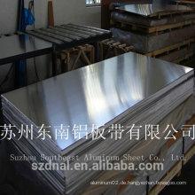 Heiße Verkäufe kundengebundenes Namensschild 5052 H32 Aluminiumblech