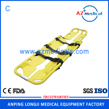 Emergency rescue adjustable aluminum alloy scoop stretcher