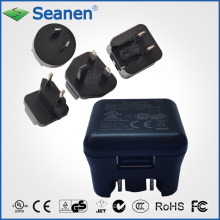 5V 1A Interchangeable Switching Power Adapter / Charger