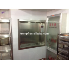 mini food elevator dumbwaiter for home restaurant kitchen
