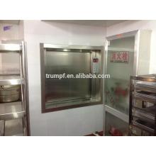 2016 alimentos baratos elevador dumbwaiter
