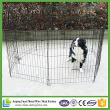 China Proveedor de vallas de alambre de perro Patio de ejercicio plegable Metarl Playpen