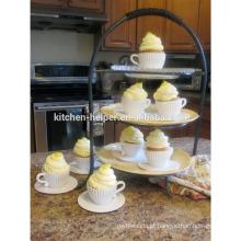 Eco-friendly fácil de lavar Silicone cupcake molde / Silicone cupcake molde / Custom bolo molde