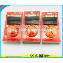 Brinquedo para crianças com venda quente Vário projeto Balanço de pulso de basquete Hi Bola de derramamento de borracha
