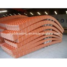 Tuile anti-corrosive de toit en plastique d'Asa (excellente imperméabilisation)