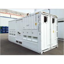 Type intégré de conteneur de transformateur
