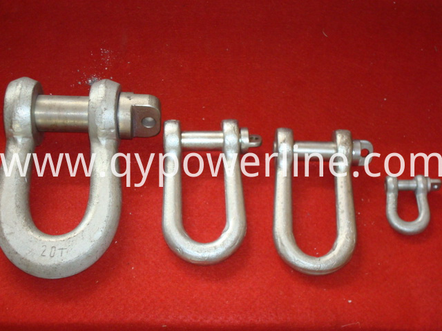 Stringing Equipment D-Shackle