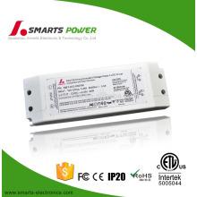 China fornecedor sem cintilação 12 v 10 w 20 w 30 w dimmable LED lâmpada DALI fonte de alimentação