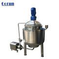 Tanque de mezcla revestido de vapor / de calefacción eléctrica de acero inoxidable