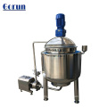 Stainless Steel Steam/Electric Heating Jacketed Mixing Tank