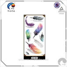 New design temporary 3D tattoo stickers