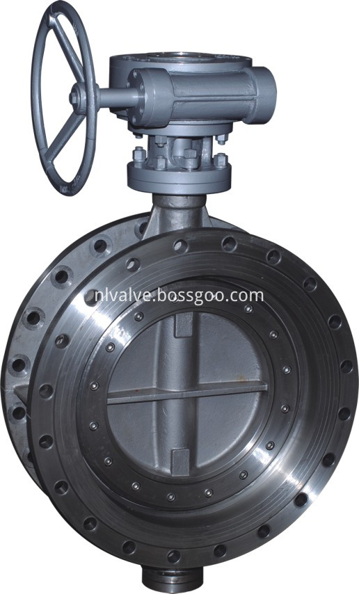 FLange Double Offset Hard Seal Butterfly Valve